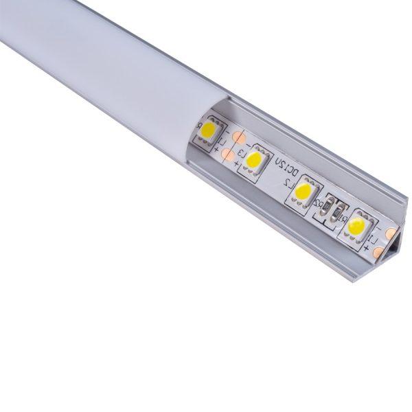 DIFUSOR PMMA OPAL PARA LED PROFILE MOD: BILBAO I