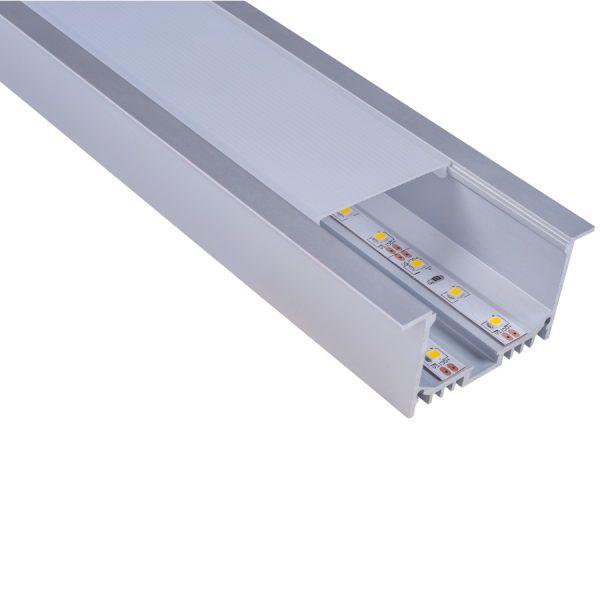 DIFUSOR PC OPAL PARA LED PROFILE MOD: IBIZA I