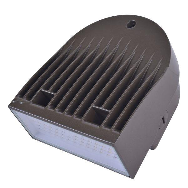 LED WALLPACK SERIE 20 BRONZE 120-277V 5000K 50/60HZ 1445 LUM