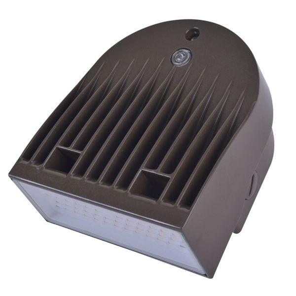 LED WALLPACK SERIE 20 BRONZE 120-277V 5000K 50/60HZ 1445 LUM C/FOT C/DIM AUT