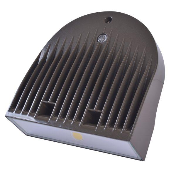 LED WALLPACK SERIE 30 BRONZE 120-277V 5000K 50/60HZ 2821 LUM C/FOT C/DIM AUT