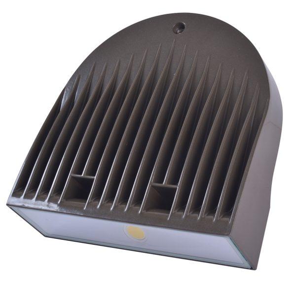 LED WALLPACK SERIE 40 BRONZE 120-277V 5000K 50/60HZ 3387 LUM