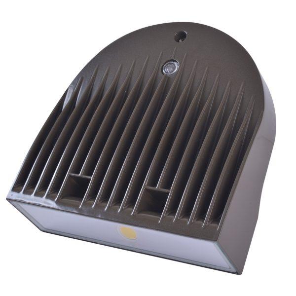 LED WALLPACK SERIE 40 BRONZE 120-277V 5000K 50/60HZ 3387 LUM C/FOT C/DIM AUT