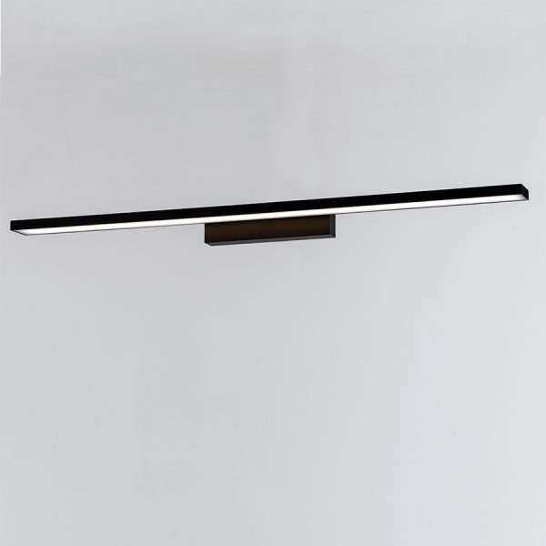 APLIQUE DE PARED NEGRO LED INTEGRADO